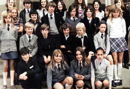 King John School - Mr Neale's Tutor Group 1972
