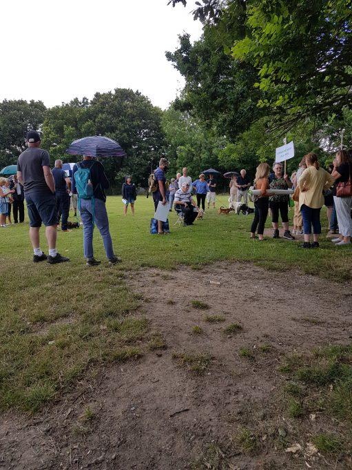 More people arrive (Photo courtesy of Pamela J. Bird-Gaines)