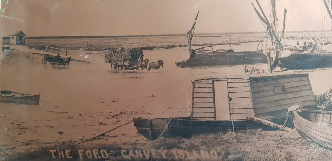 South Benfleet to Canvey ford before the building of a bridge   Danny Clarke
