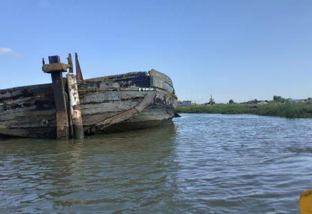 Photos of Scone taken on a canoe trip