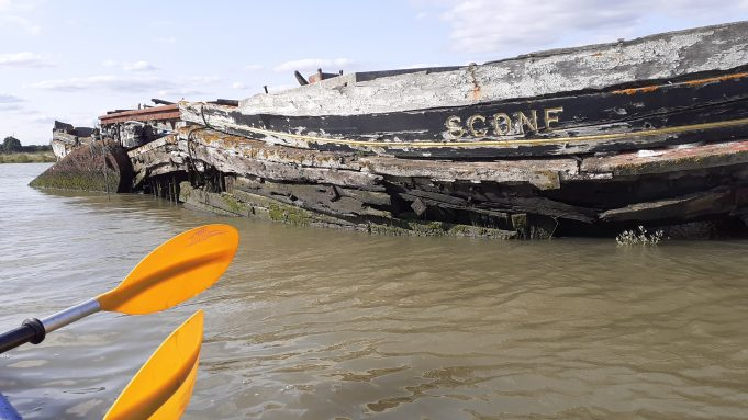 Scone from a canoe   Ian Lipscomb