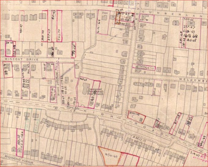 CPDC planning map 1960 | CPDC Historic Planning Maps