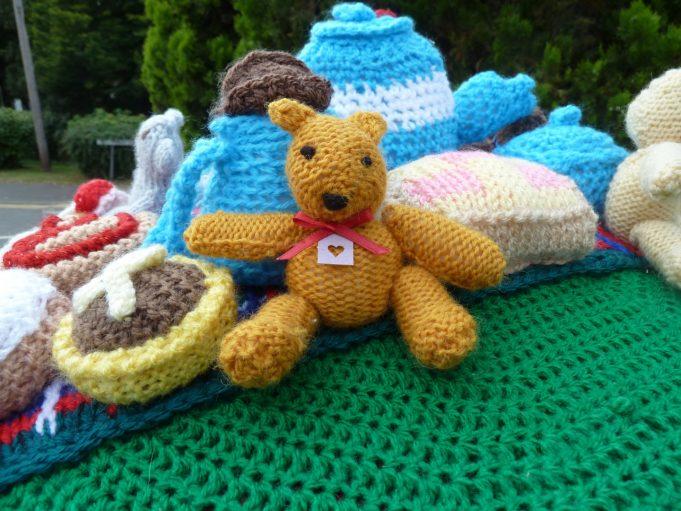 Teddy Bears Picnic showing a teddy bear | Phil Coley