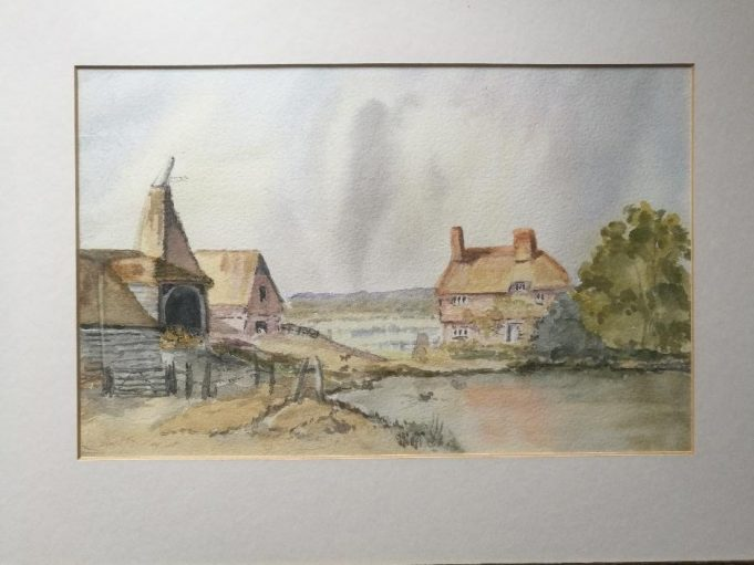 Oast House, a View of Kent? | Andrew Thrush