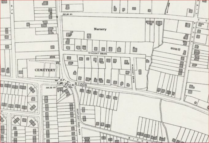 1939 map showing Wincoat Drive | National Library of Scotland Maps